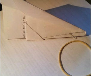 Easy DIY: Launch With a Rubber Band Airplane