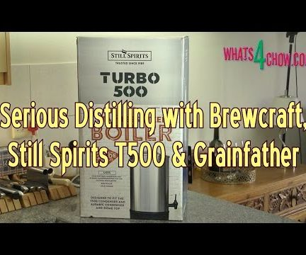 Serious Distilling with Brewcraft, Still Spirits T500 & Grainfather – Part 1 of 16