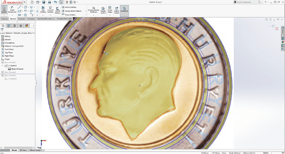Creating the Coins