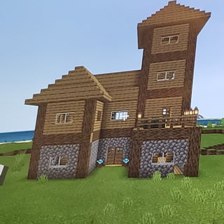 How to Build a Large Minecraft House