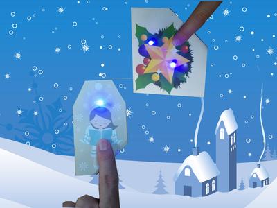 Christmas LED Tag