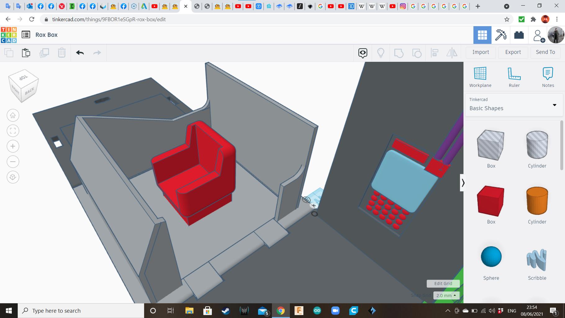 平台2:椅子
