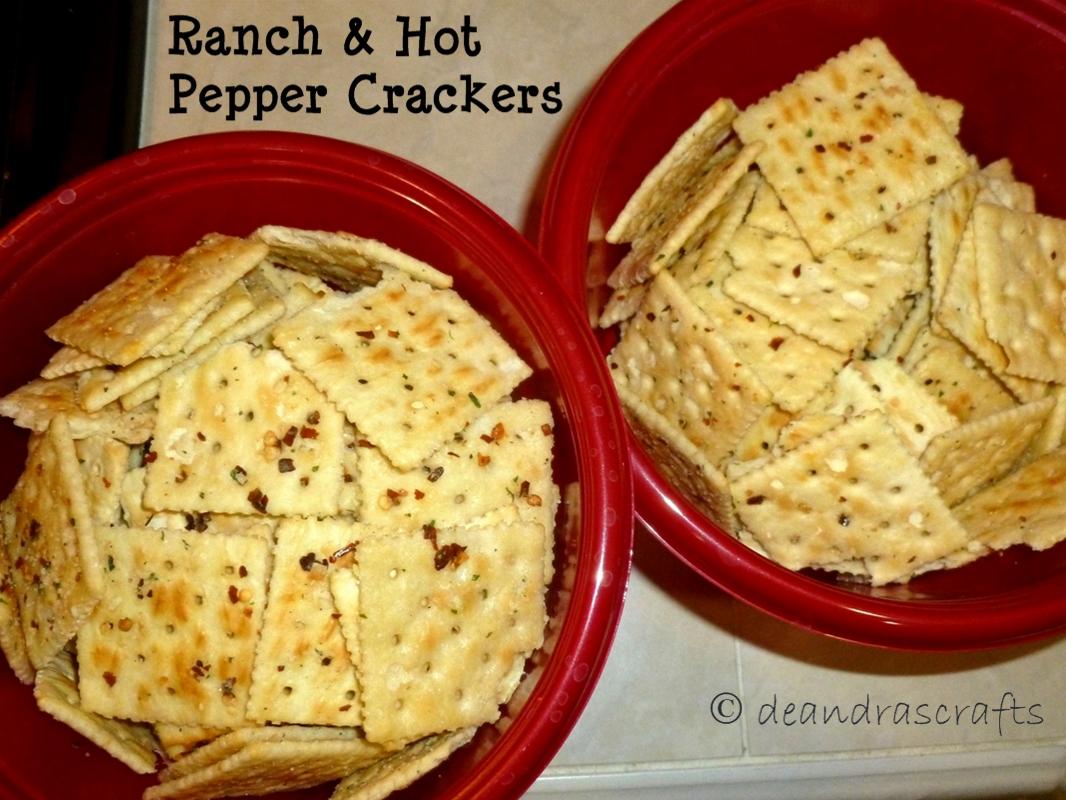 Ranch & Pepper Crackers