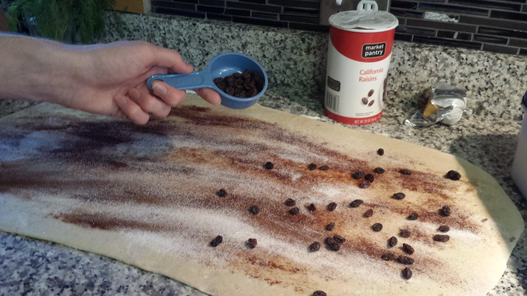 Add Raisins (OPTIONAL)