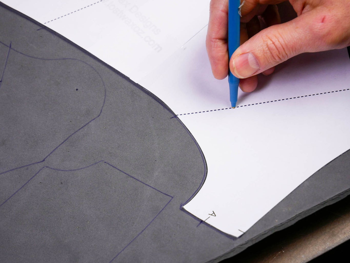Cut and Trace the Pattern