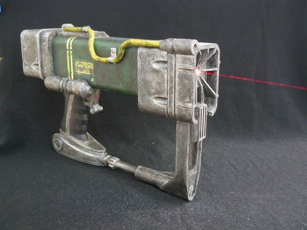 A 3D Printable AEP7 Laser Pistol (Fallout)
