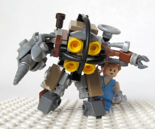 LEGO Bioshock Big Daddy & Little Sister