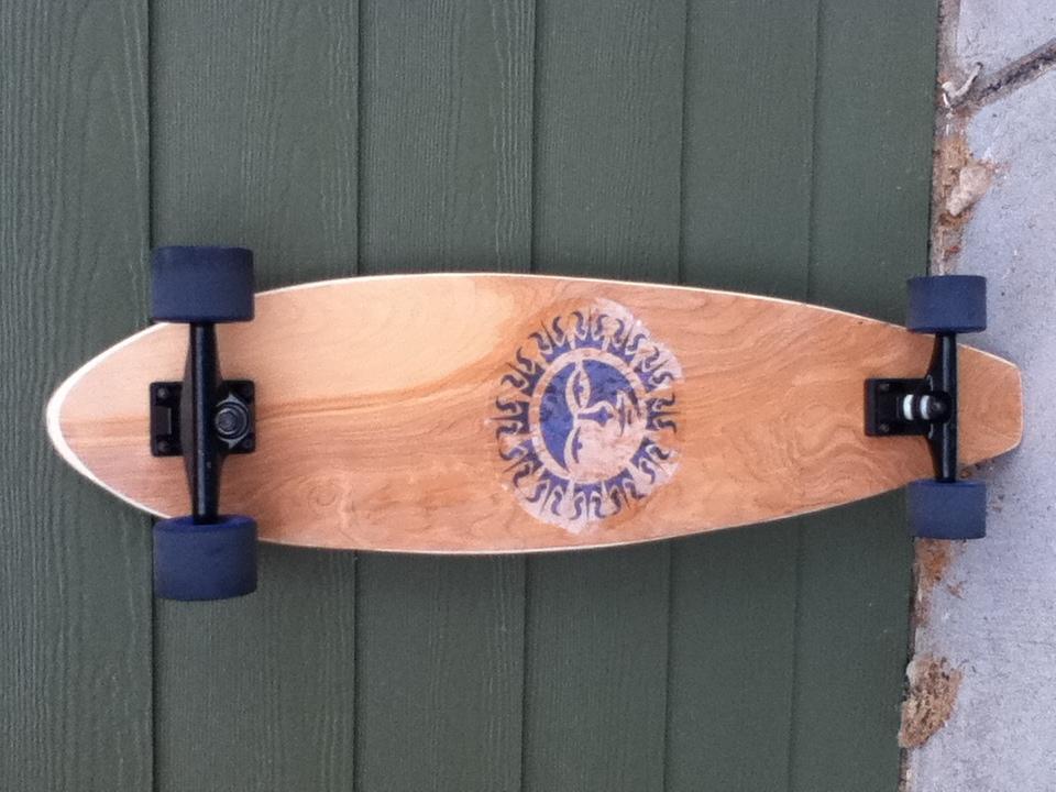 Make A Sweet Longboard