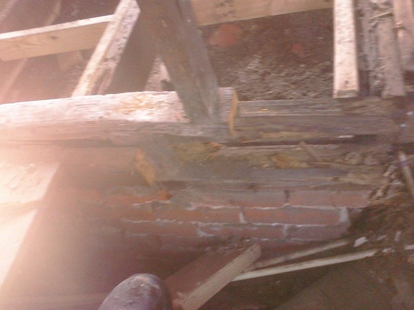Repairing a Rotted Wall or Floor Joist