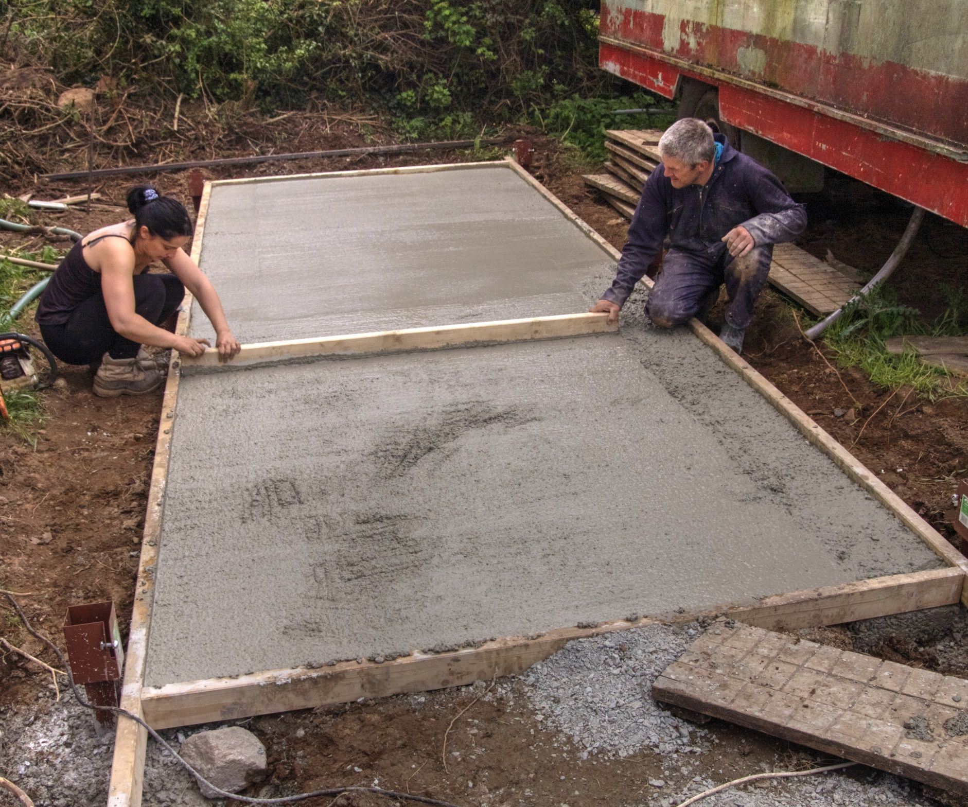 The 'Easy Empty' Composting Toilet Project: Part 1 - Ground Works