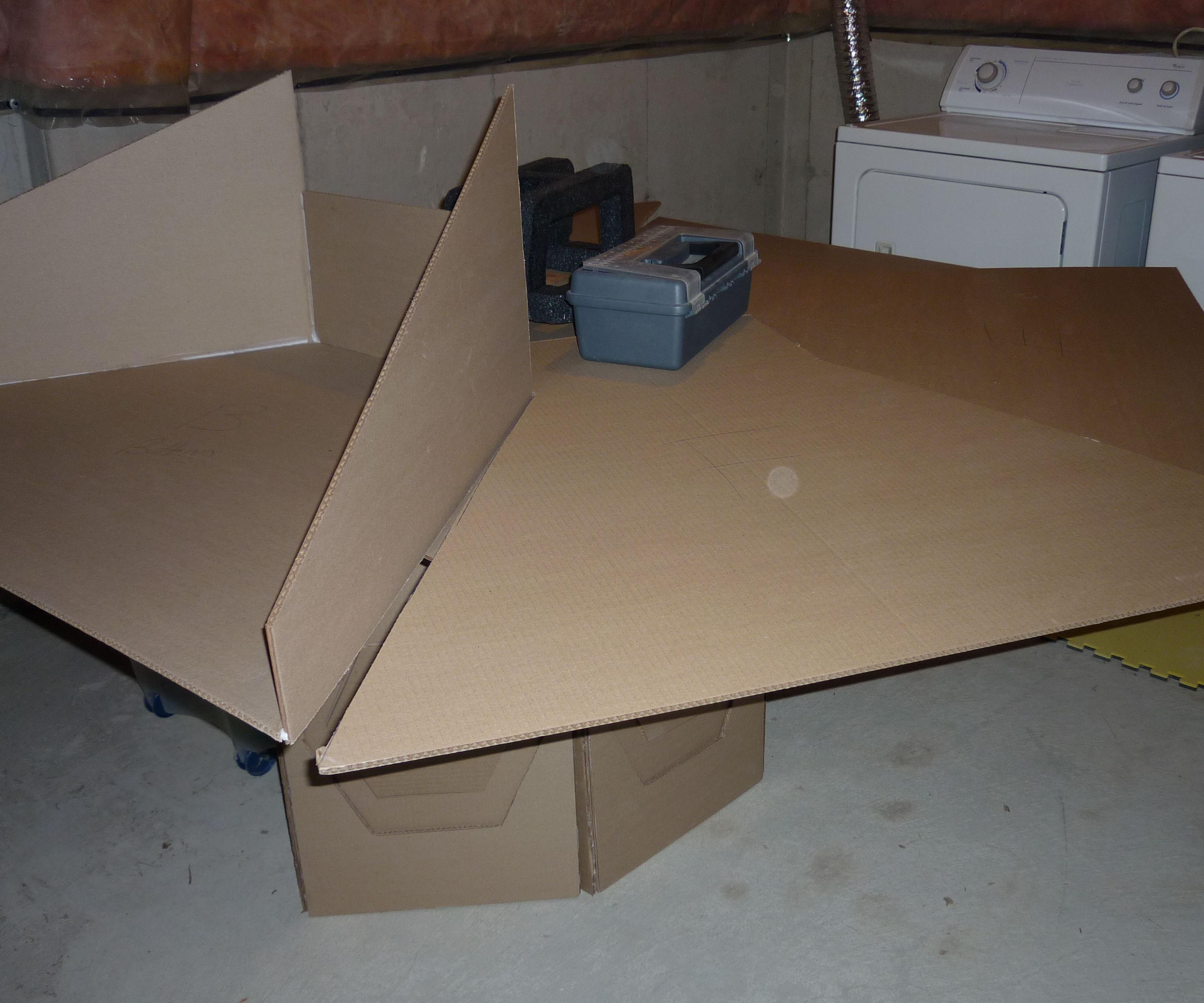 Doctor Who Tardis Cardboard Console