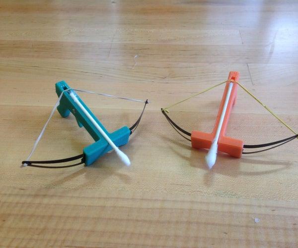 Q-tip Crossbow