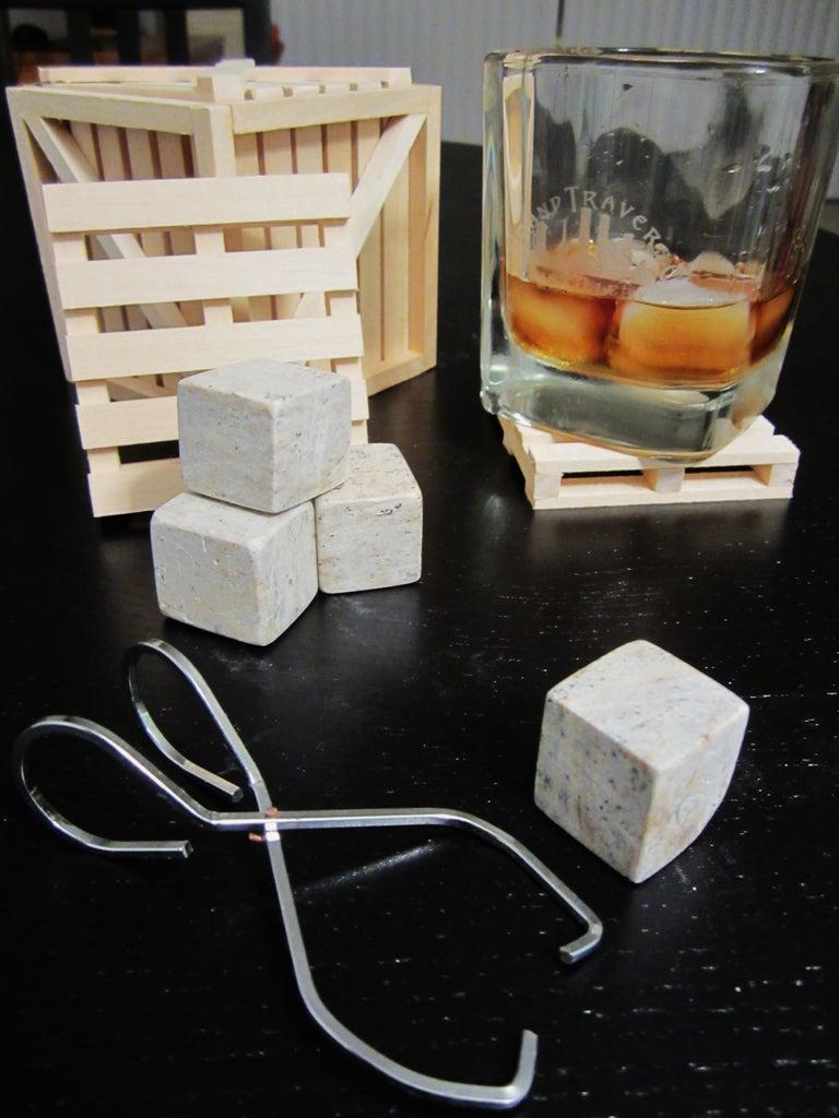 Whiskey Ice Tongs