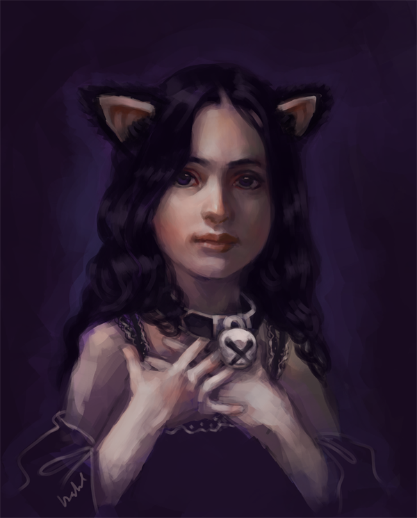The Cat Girl (Tigerlily for Halloween)