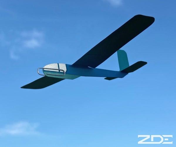 Card Stock Glider / Planeador De Cartulina
