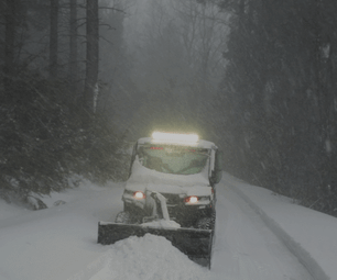 Polaris Brutus进气以雪