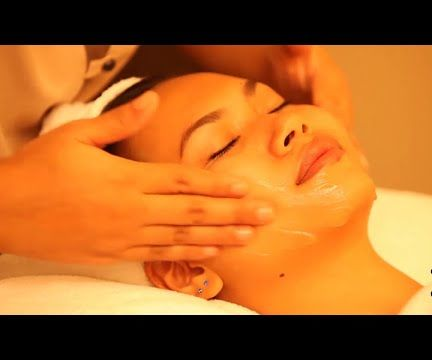Facial Massage - How To Massage The Face, Neck & Upper Crest - Massage Tutorials