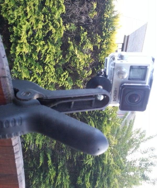 DIY GoPro Hero Hand Clamp Mount