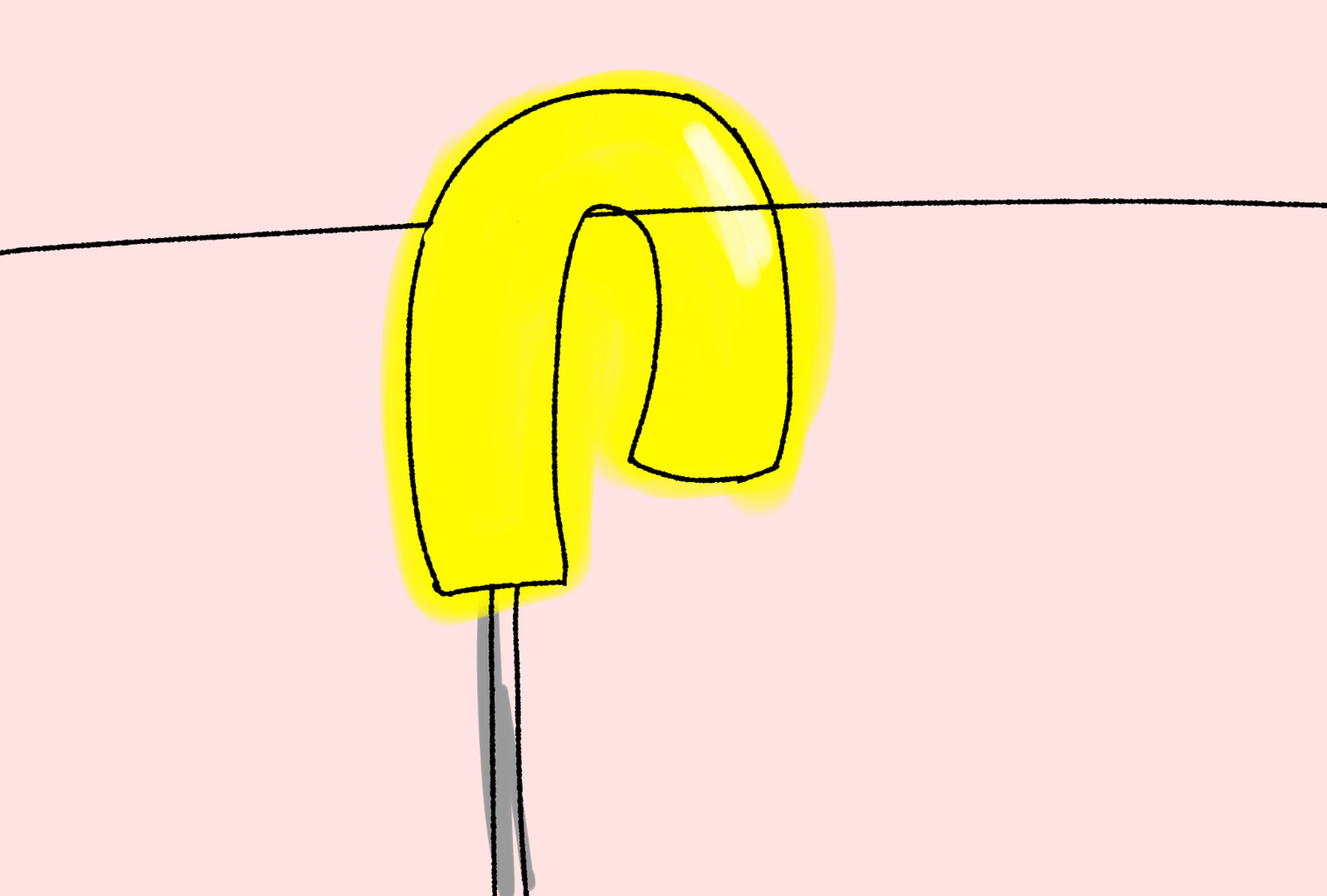 Hang the Umbrella Upside Down