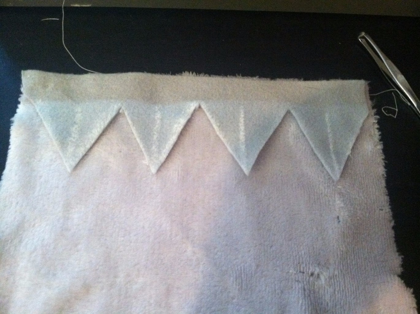 Sewing on the Spikes