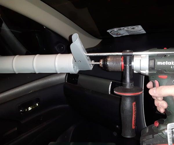 Cordless Drill Powered Caulk Gun