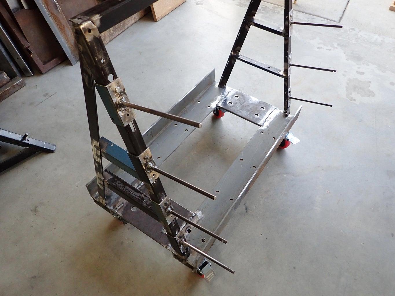 Test-mount the Shelf Brackets