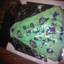Faith's Homemade Vanilla Christmas Cake With Cream Cheese Frosting With Sprinkels
