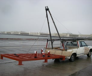 A-Frame Boom for Vehicle - Scavenge Huge Things