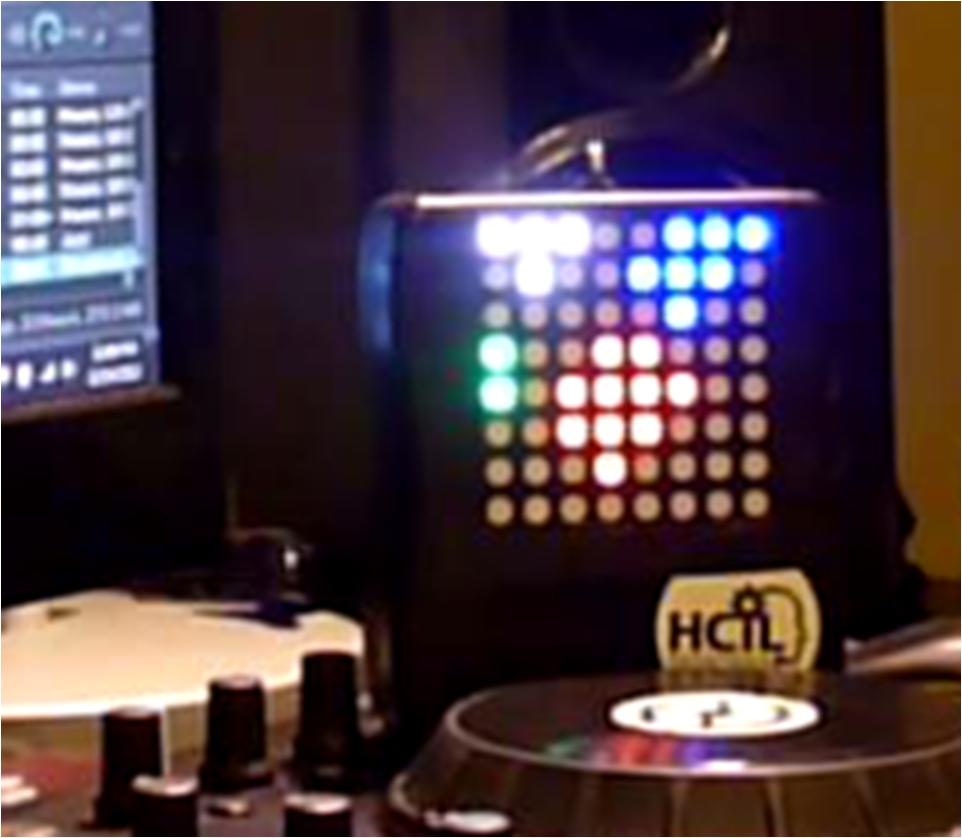 X-Track - Wireless music visualization and tracker