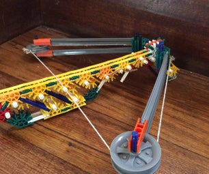 First Reverse Draw Crossbow Made From K'nex on Instructables!!