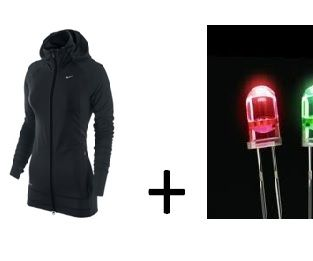 Jacket with Arduino Light Sensor