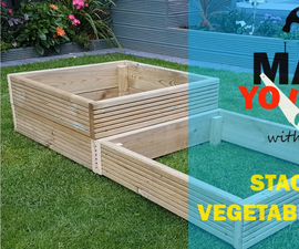 Stackable Vegetable Planter