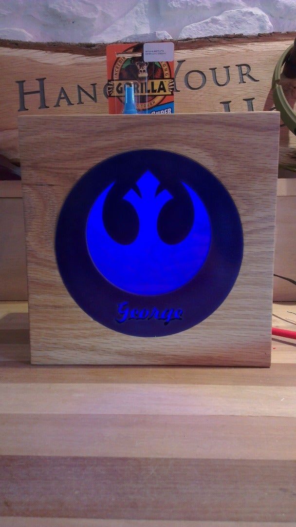 Star Wars Kids Bedside Lamps