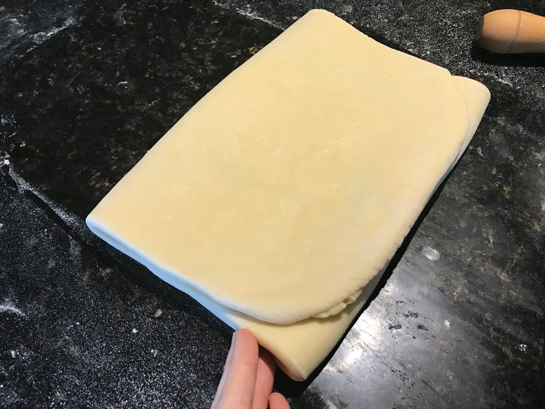 Triple Fold the Dough 5 Times