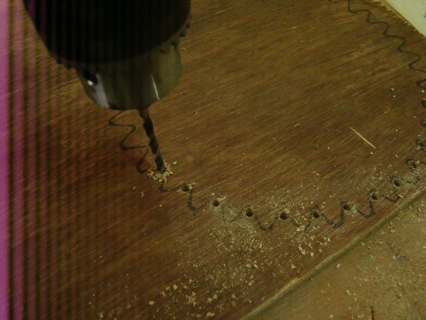 Some Drilling (42 Holes!)