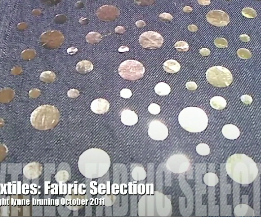 ETextiles: How to Select Fabric