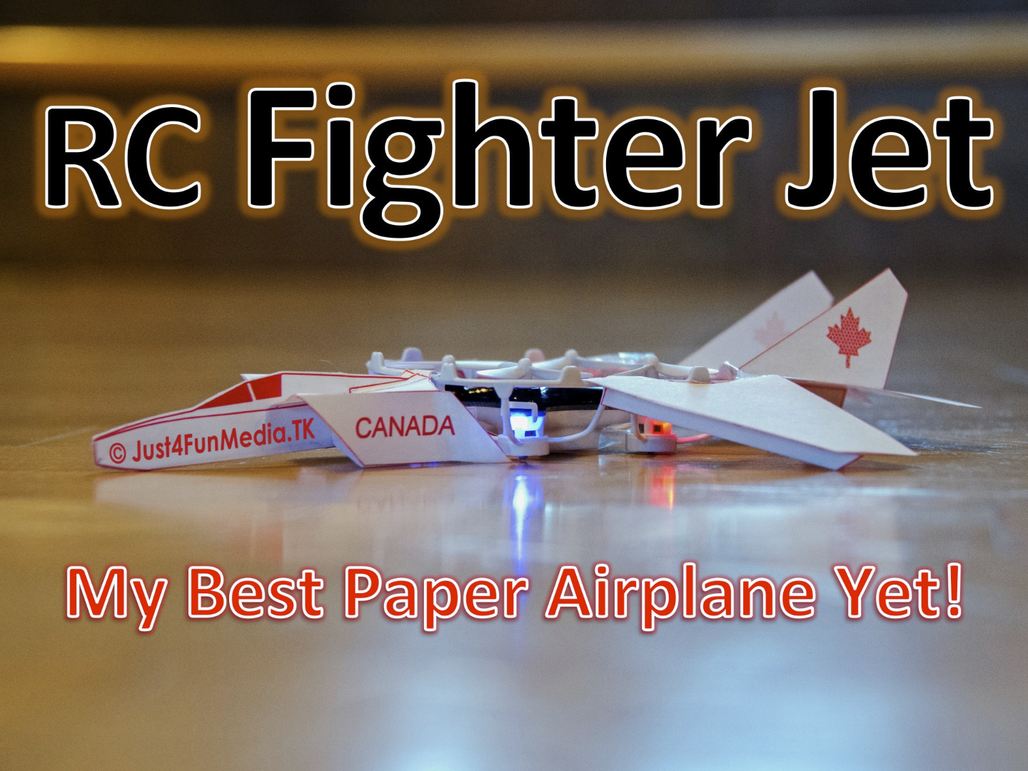 RC Paper Fighter Jet
