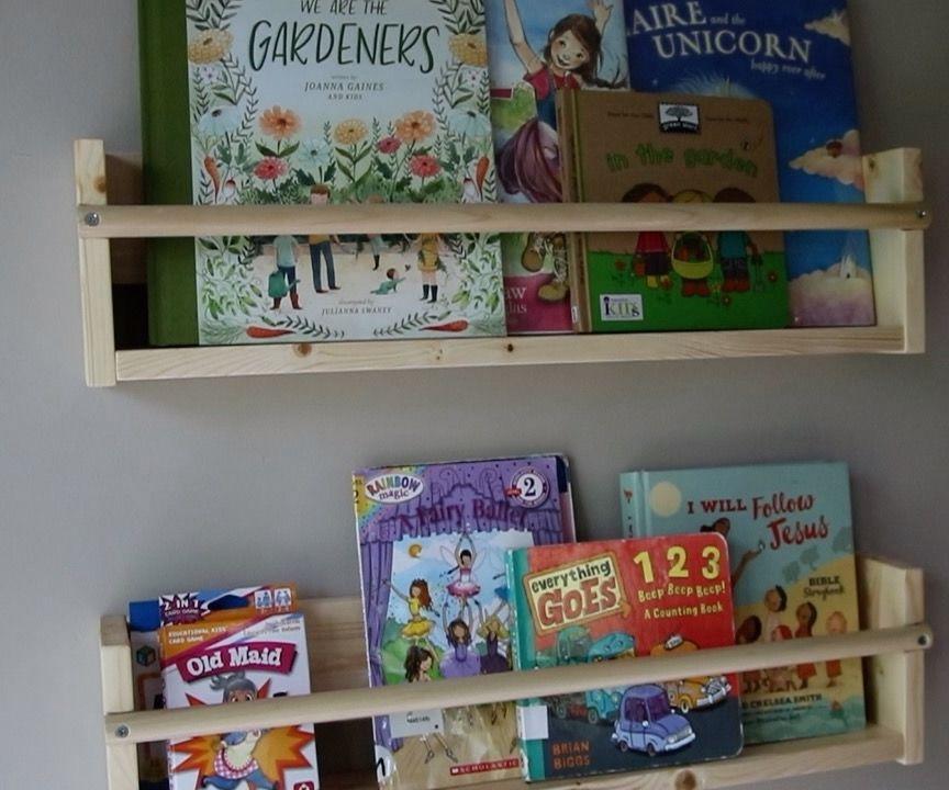 Kids Wall Display Bookshelves