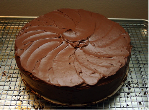 Chocolate Cake (made from scratch)