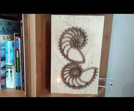 Hybrid Nautilus Clock