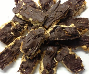 Snickers Caseros (Homemade Snickers)