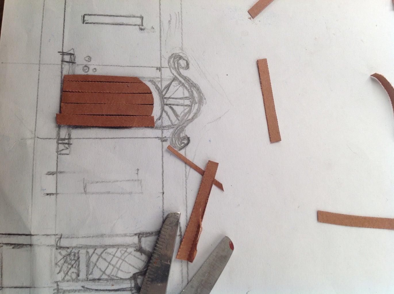 The Main Windor Ledge and Door