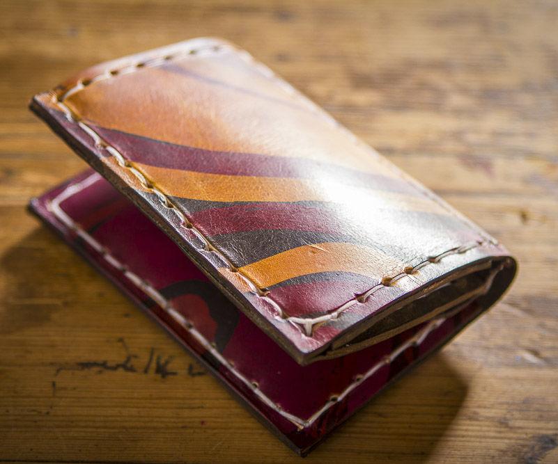 Batik Leather Wallet