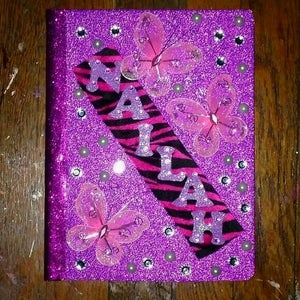 Dollar Store Gift Idea: Personalized Notebook