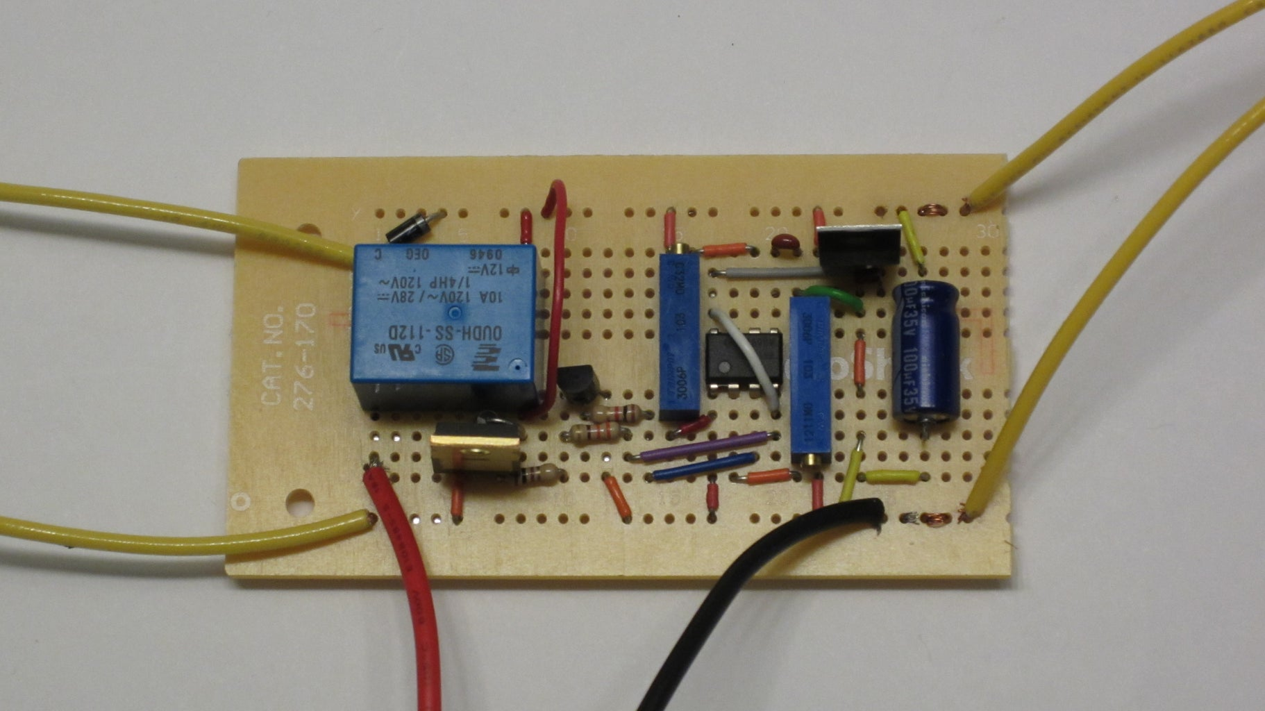Control Circuit Assembly