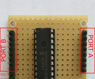 Adding an MCP23017 I/O Extender to Arduino or ESP8266