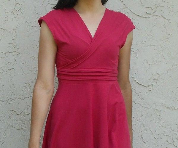 Paula Dress Free Sewing Pattern