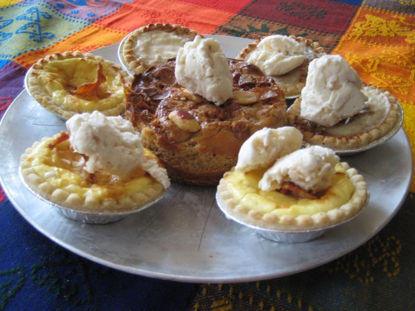 A Host of Bacon Cheesecakes, With Maple-Bacon Ice Cream