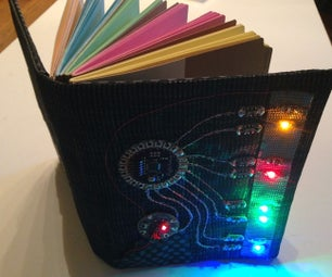 Notebook With LED Reminders