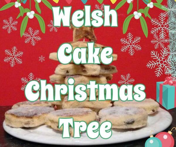 Welsh Cake Christmas Tree